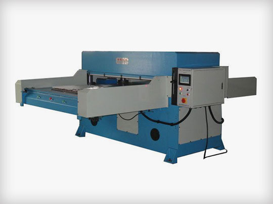 Doule sides automatic feeding cutting machine